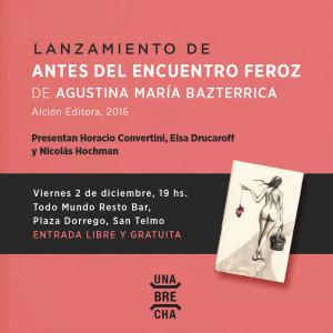 """Antes del Encuentro Feroz"""